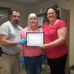 Employees of the Month - May 2018 Ted S. & Jennifer C.